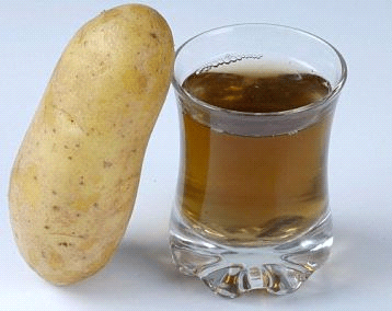 How to get rid of stretch marks - potato juice