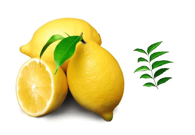 Neem Leaves and Lemon to get rid of Dandruff