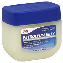 petroleum jelly. Home remedies for lice