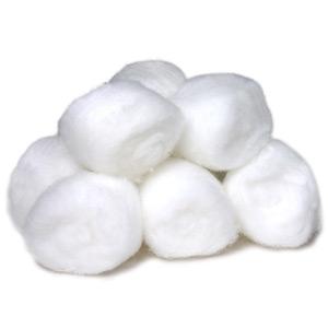use cotton balls