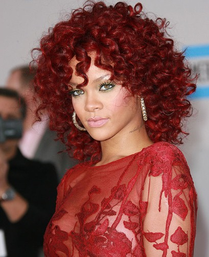 The Fiery Curls hairstyle