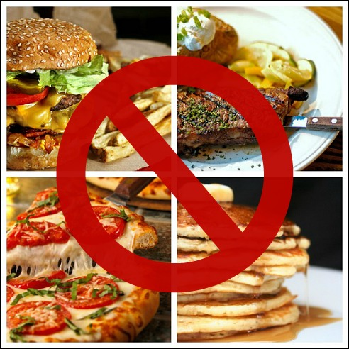Avoid Fats for tightening skin