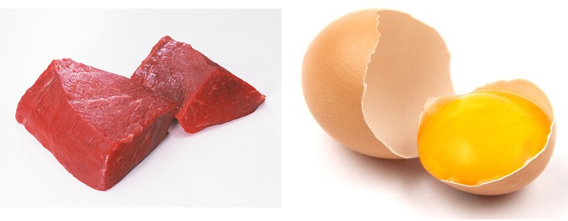 Shrink Red Meat and Egg Yolk Intake