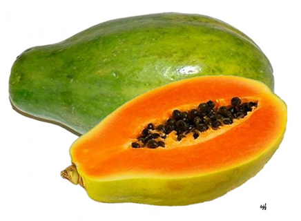 HOW TO LIGHTEN TANNED SKIN NATURALLY with papaya