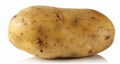 HOW TO LIGHTEN TANNED SKIN NATURALLY with potato