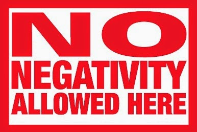 How to get rid of negative energy NO NEGATIVITY HERE