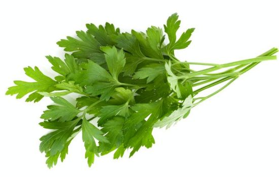 How to treat anemia naturally - Parsley