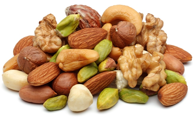How to treat anemia naturally - Wholegrain, Legumes, Nuts