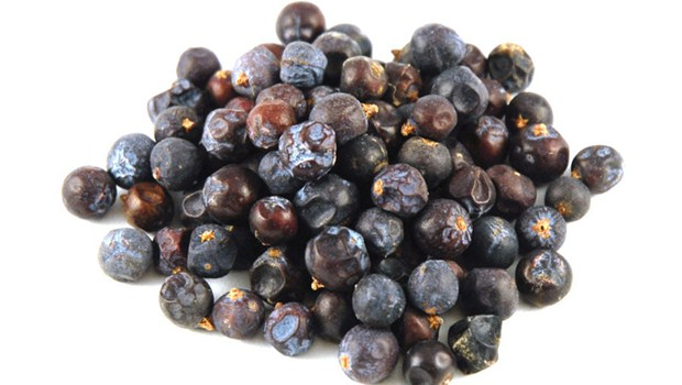 The Juniper Berries for yellow nails