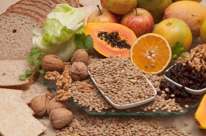 how to lose water weight with Increase Fiber Intake