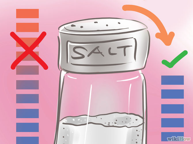 how to lose water weight with Reduce Salt Intake