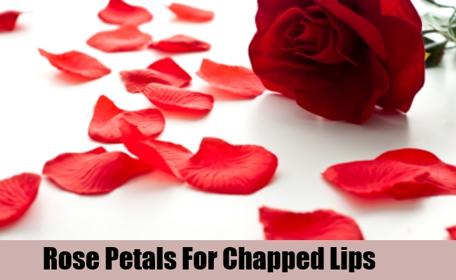 How to get rid of dry lips Rose Petals