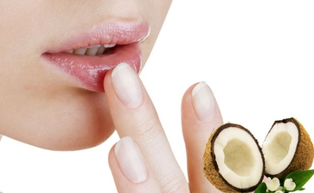 How to get rid of dry lips with Coconut Oil