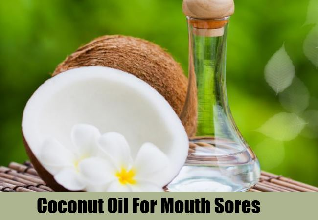 how to get rid of mouth ulcers with Coconut Method